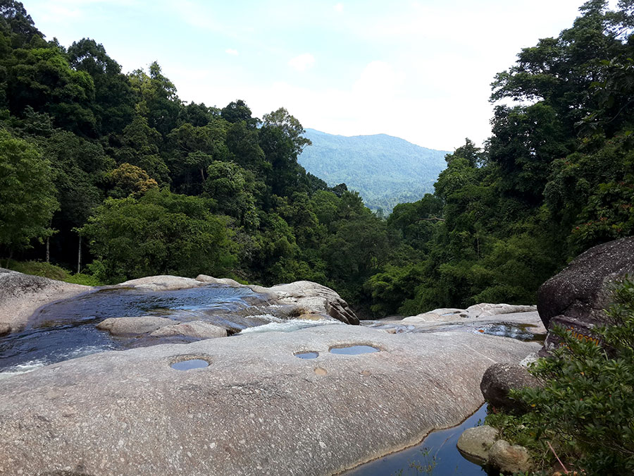 Karom Waterfall